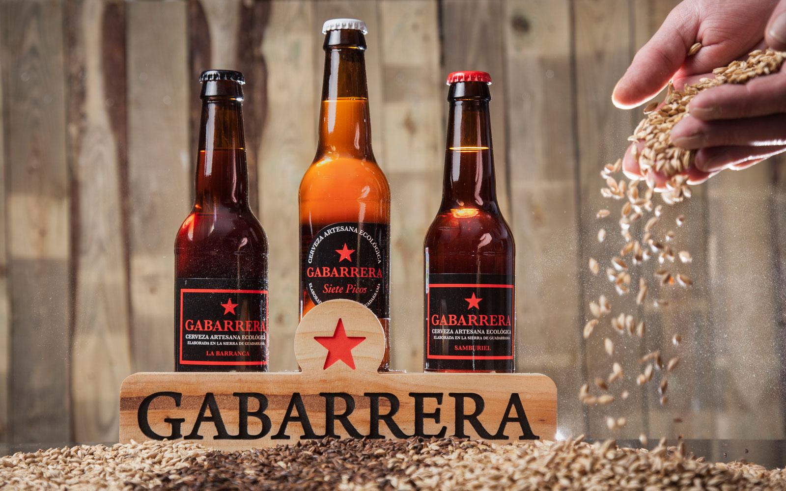 Cerveza ecológica artesana madrid Gabarrera el mundo ecológico