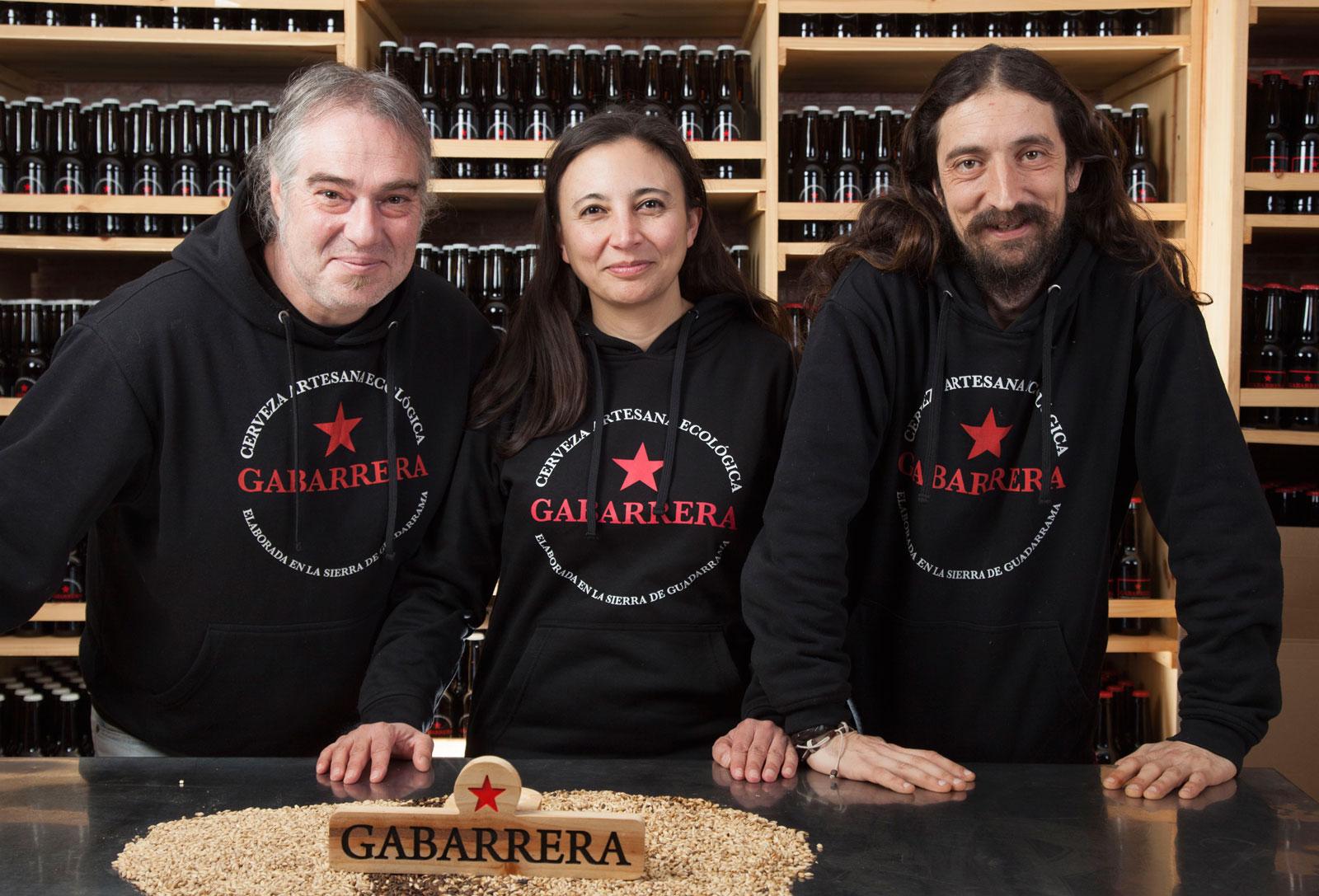 Cerveza ecológica artesana madrid Gabarrera el mundo ecológico fundadores