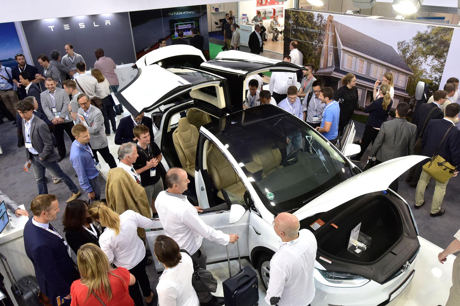 Fabricacion Baterias coches electricos Feria ees Europe 2018