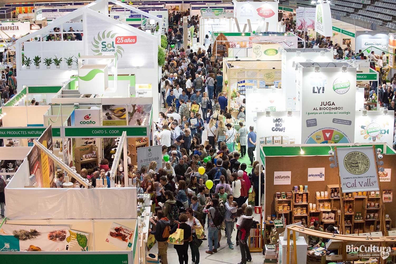 """25 años de Biocultura Barcelona, un año más con el """"biocot"""" de la Fira"""