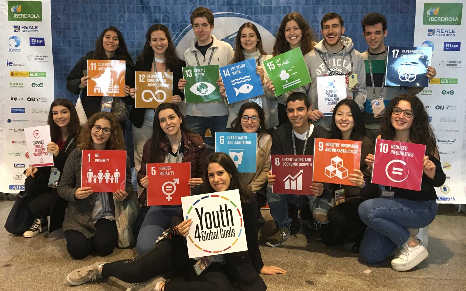 Semana Objetivos Desarrollo Sostenible ODS YouthSpeak Forum 4 Goals