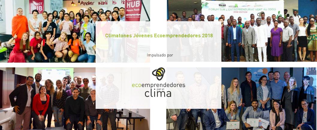YEClimathons18 spain climatones ecoemprendedores