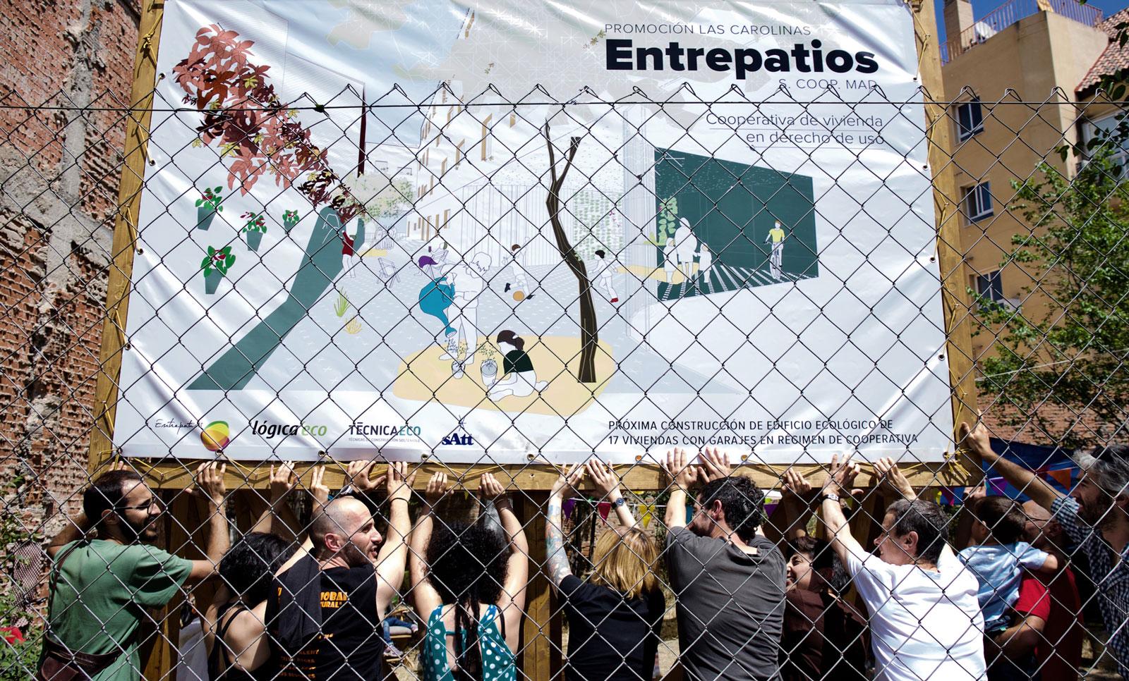 Entrepatios inicia su proyecto de cohousing verde y crece en Madrid
