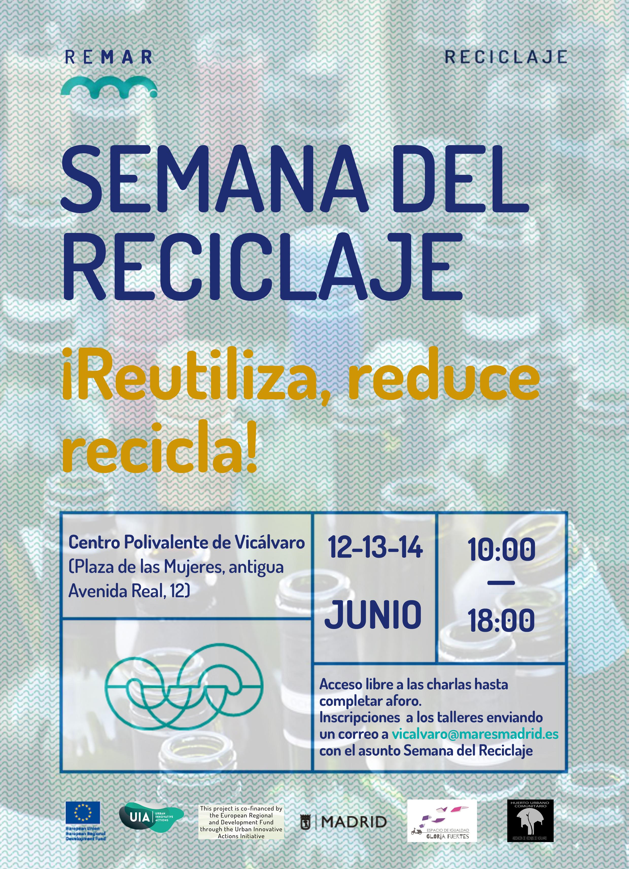 Mares Madrid Semana de reciclaje Programa