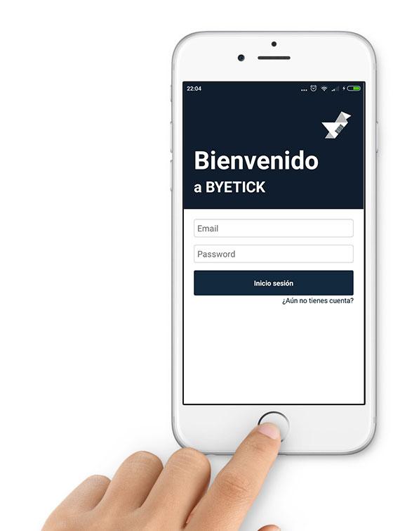 Byetick aplicacion ahorro tickets compra tienda
