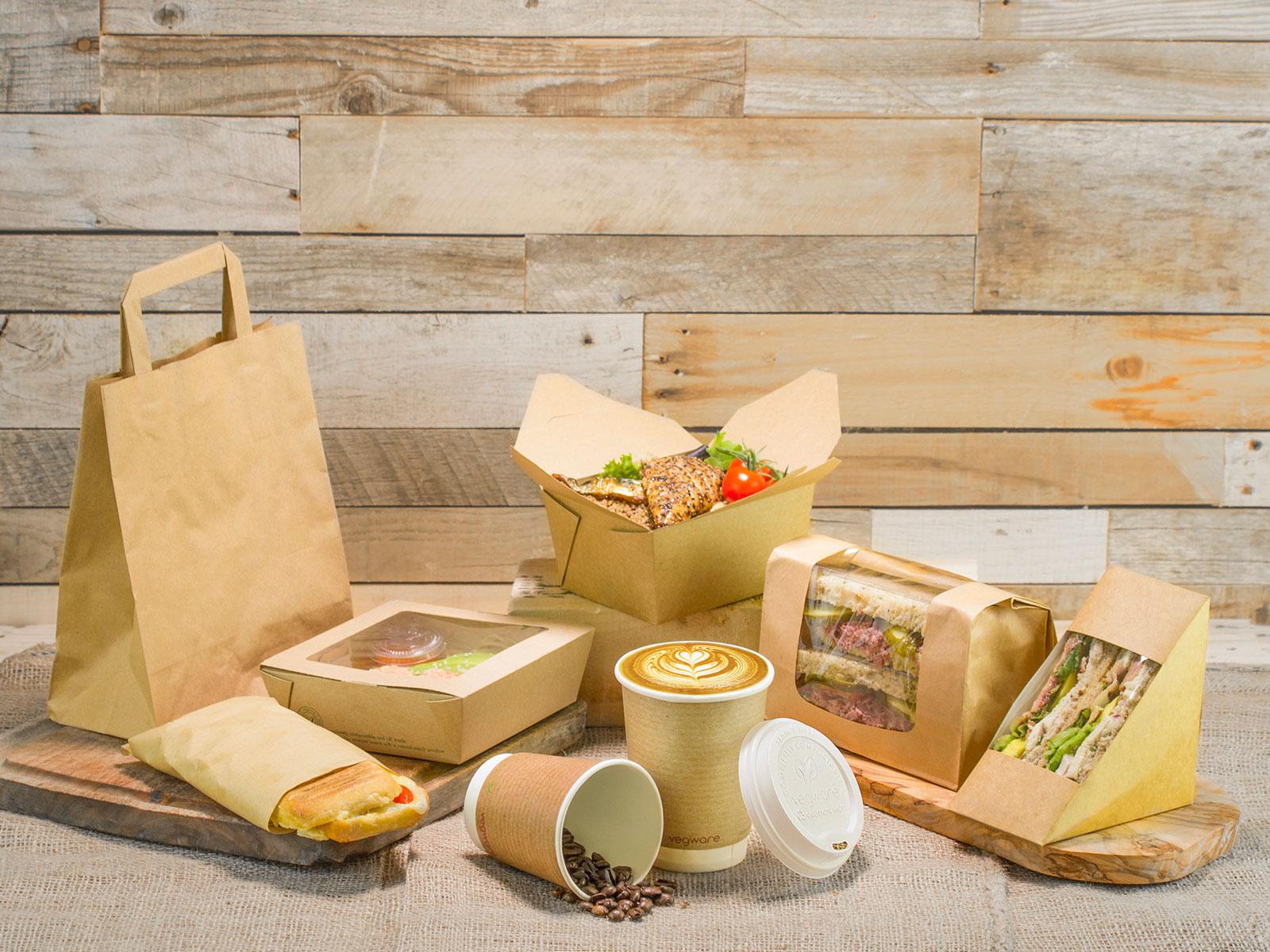 Soluciones biodegradables y compostables para el take away