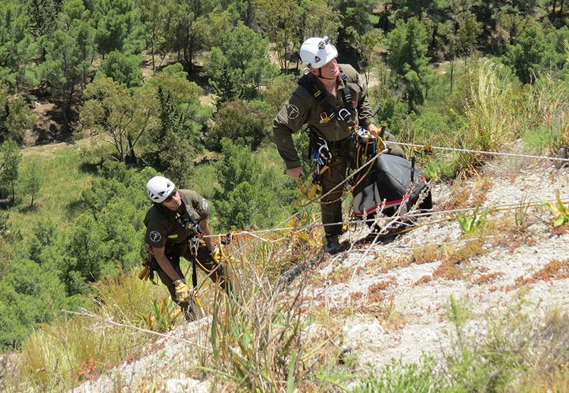 GREFA trabaja en la conservación de águilas de Bonelli en Sicilia
