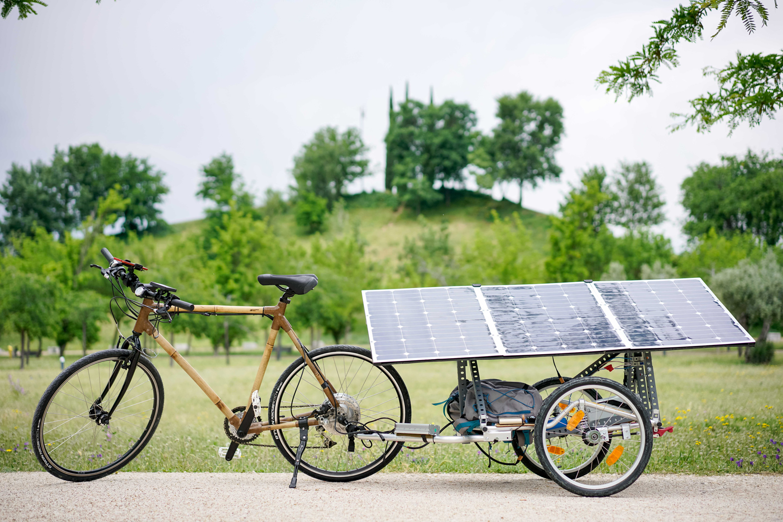 La vuelta a España del bicinauta solar
