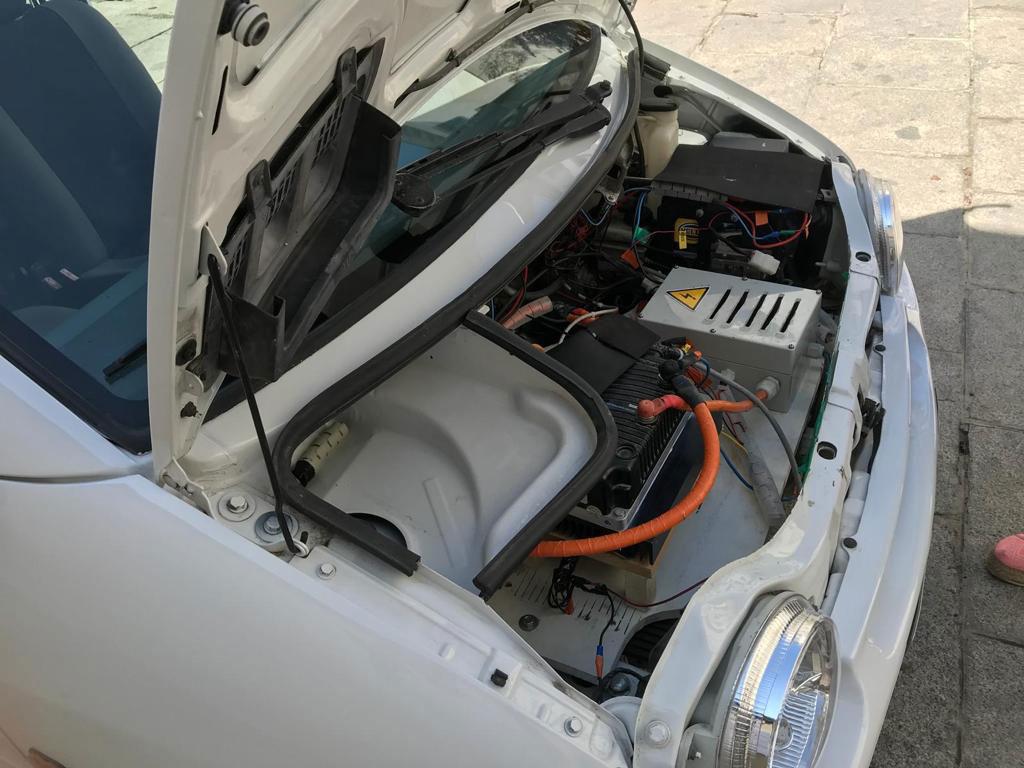 Convertir coche combustion en electrico elektrun cars mares madrid