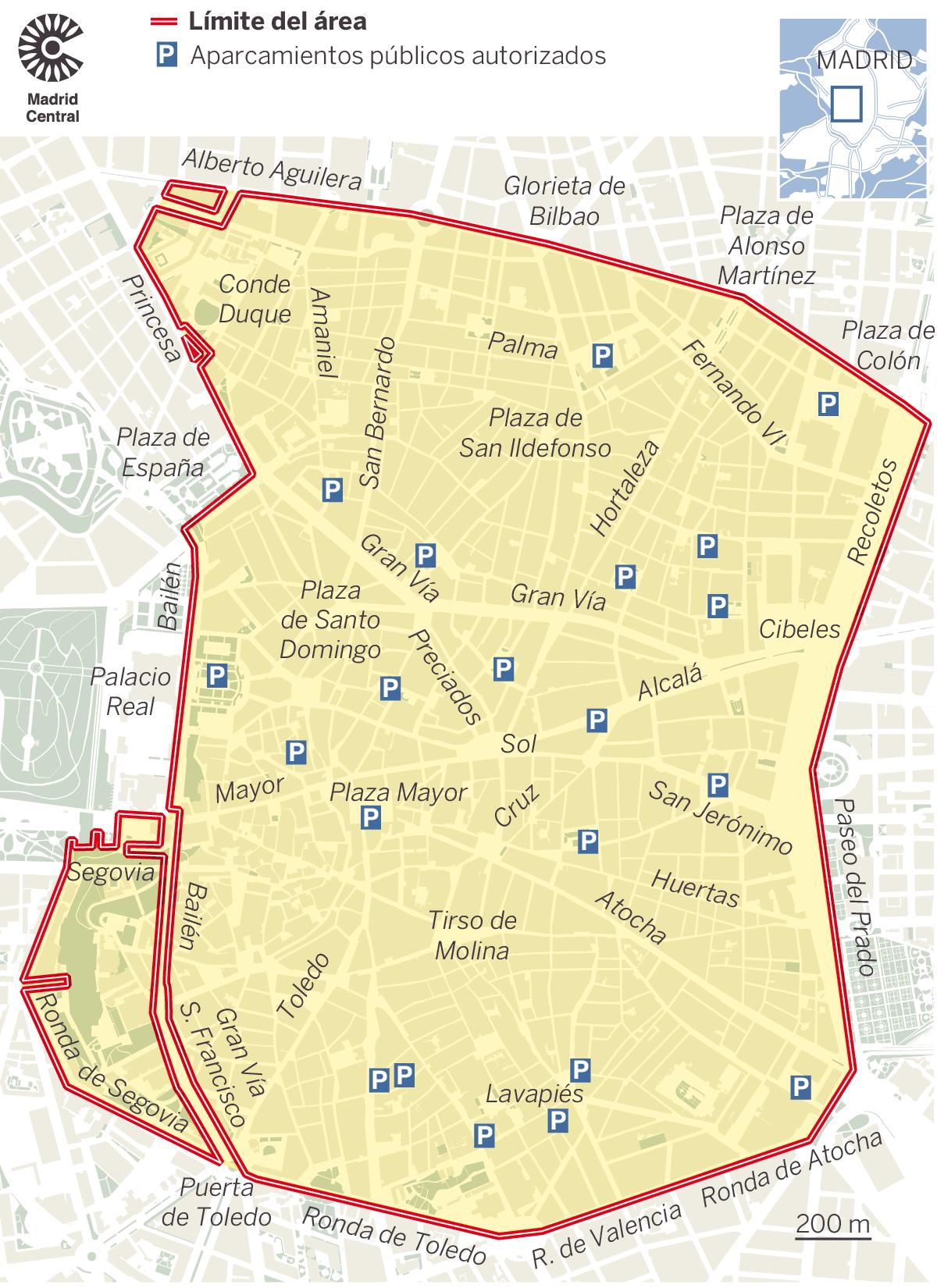 Madrid Gran Central Ordenanza Movilidad sostenible Ayuntamiento