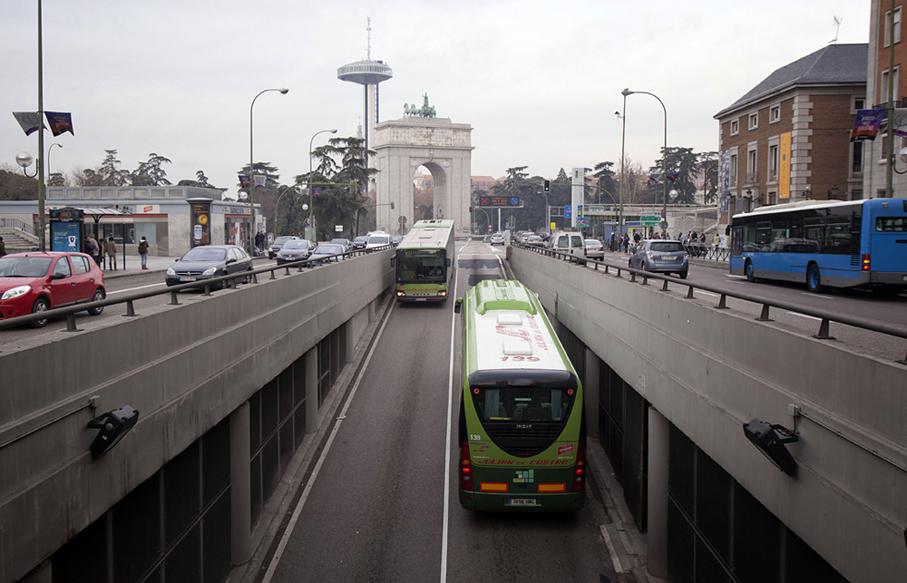 Autobuses interurbanos Madrid