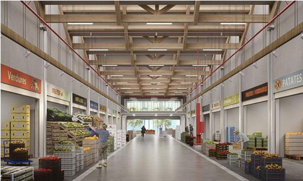 Mercabarna biomarket mercado bio Barcelona