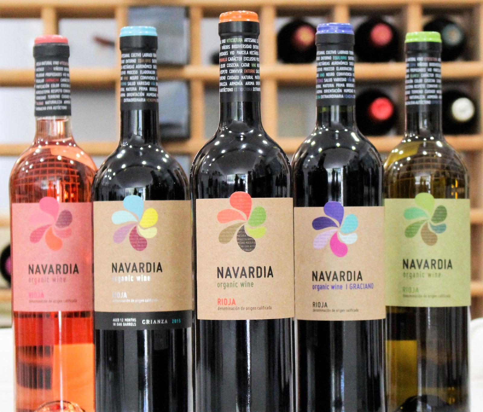 Navardia Bodegas Bagordi vino ecológico La Rioja