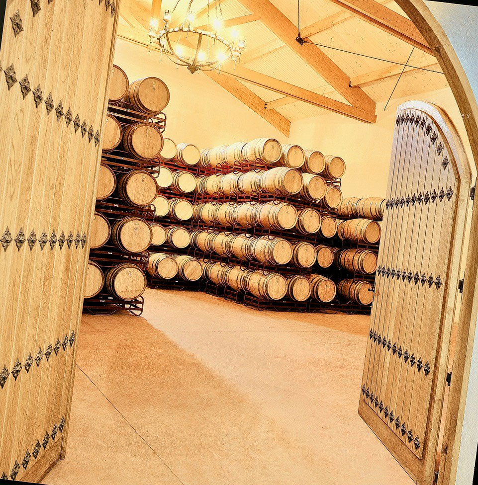 Bodegas Bagordi vino ecológico La Rioja Barricas