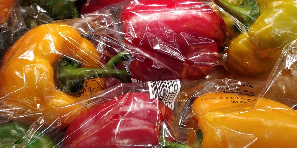 Desnuda la fruta supermercados fruta plástico