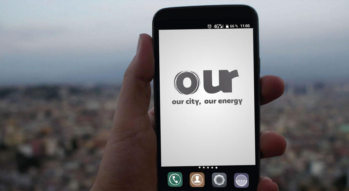 Aplicación móvil control consumo agua luz ciudades Our City Energy España municipios ecooo