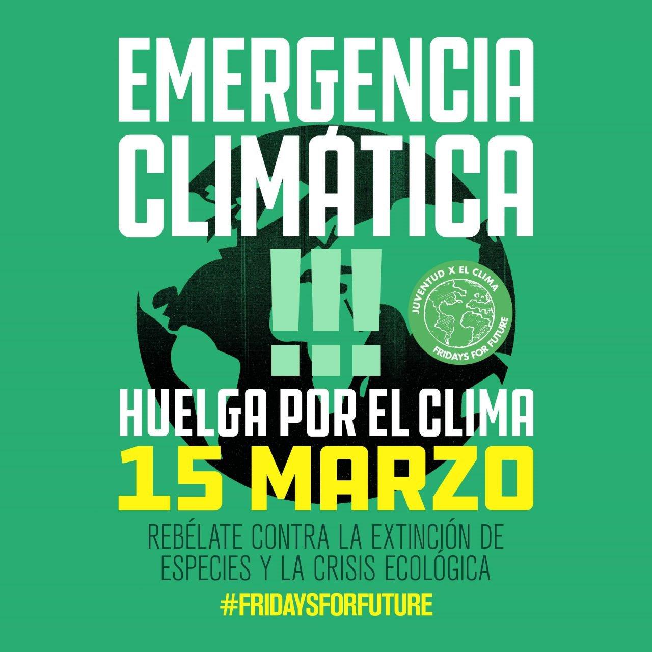 Greta Thunberg Fridays for future huelga por el clima