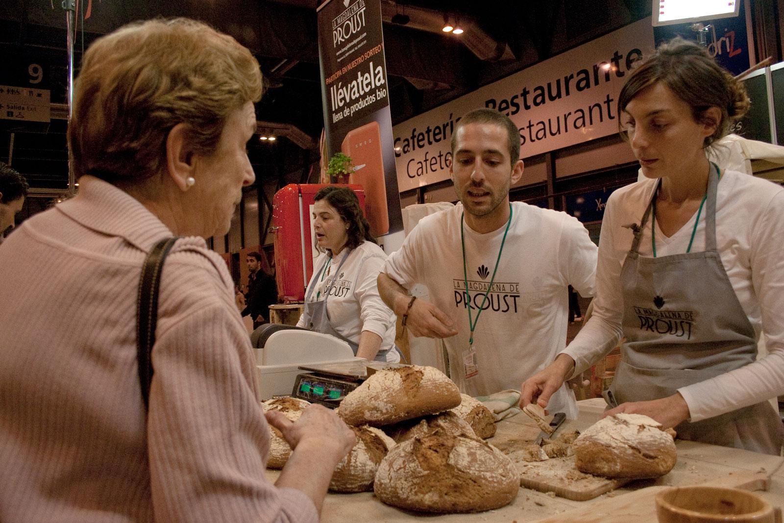 Pan ecológico masa madre ley calidad del pan Asociación de panaderías biologicas