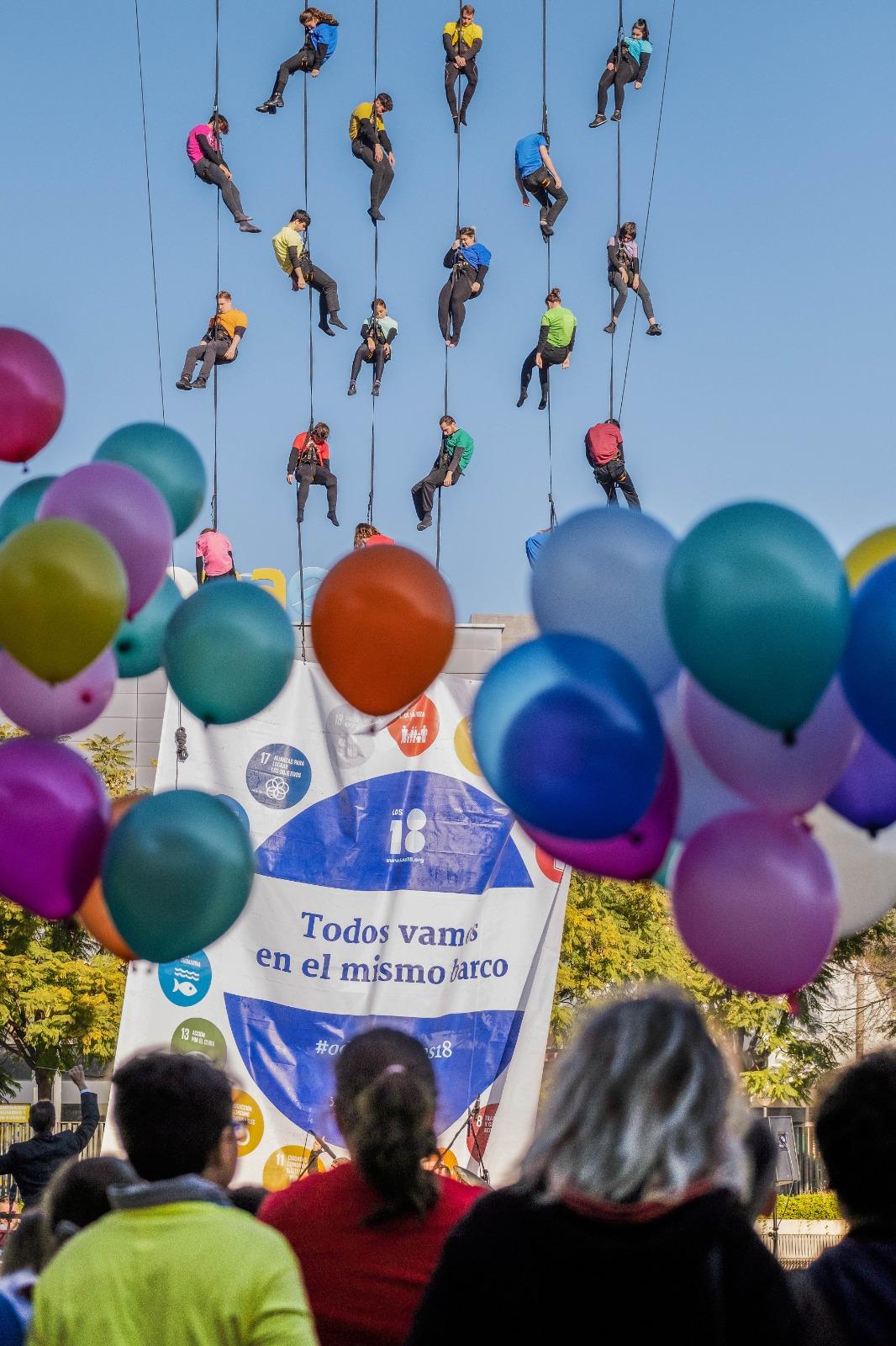 Los18 vuelta al mundo ODS