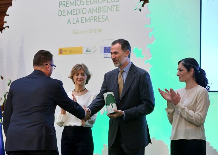 Entrega Premios Europeos Medio Ambiente