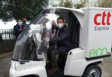 CTT Express vehículo ecosostenible