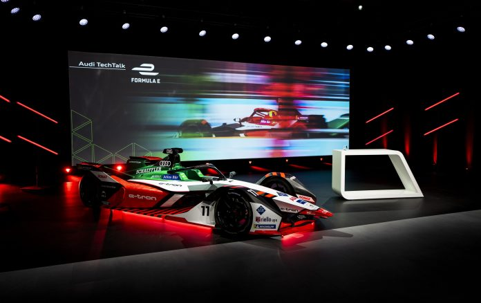 Audi presenta Audi e-tron FE07