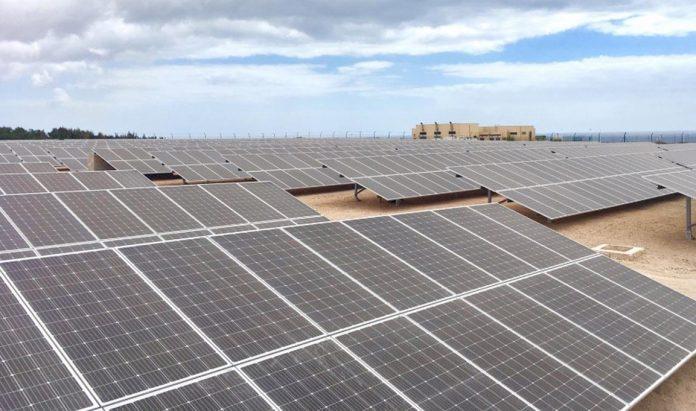 planta solar fotovoltaica Aena