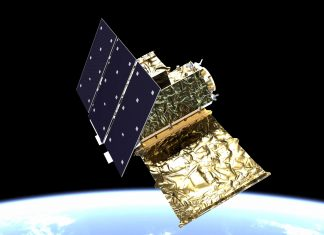 satélite observación medioambiental