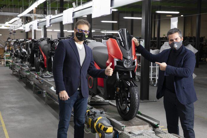 moto eléctrica SEAT