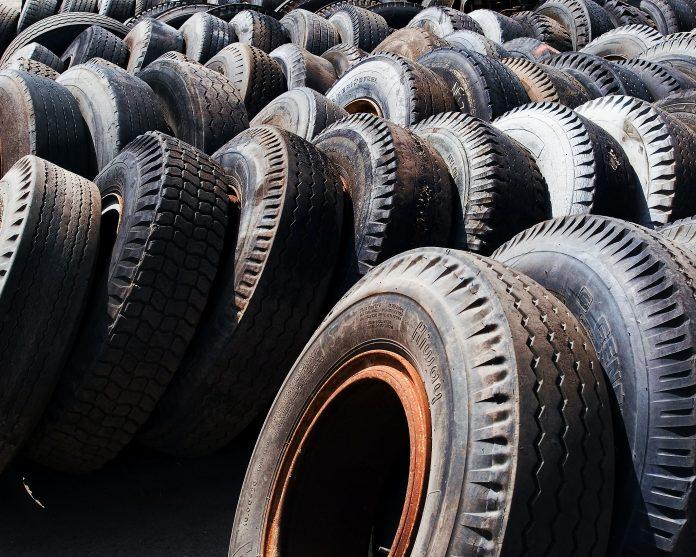 reutilización neumáticos