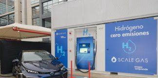 estación repostaje hidrógeno