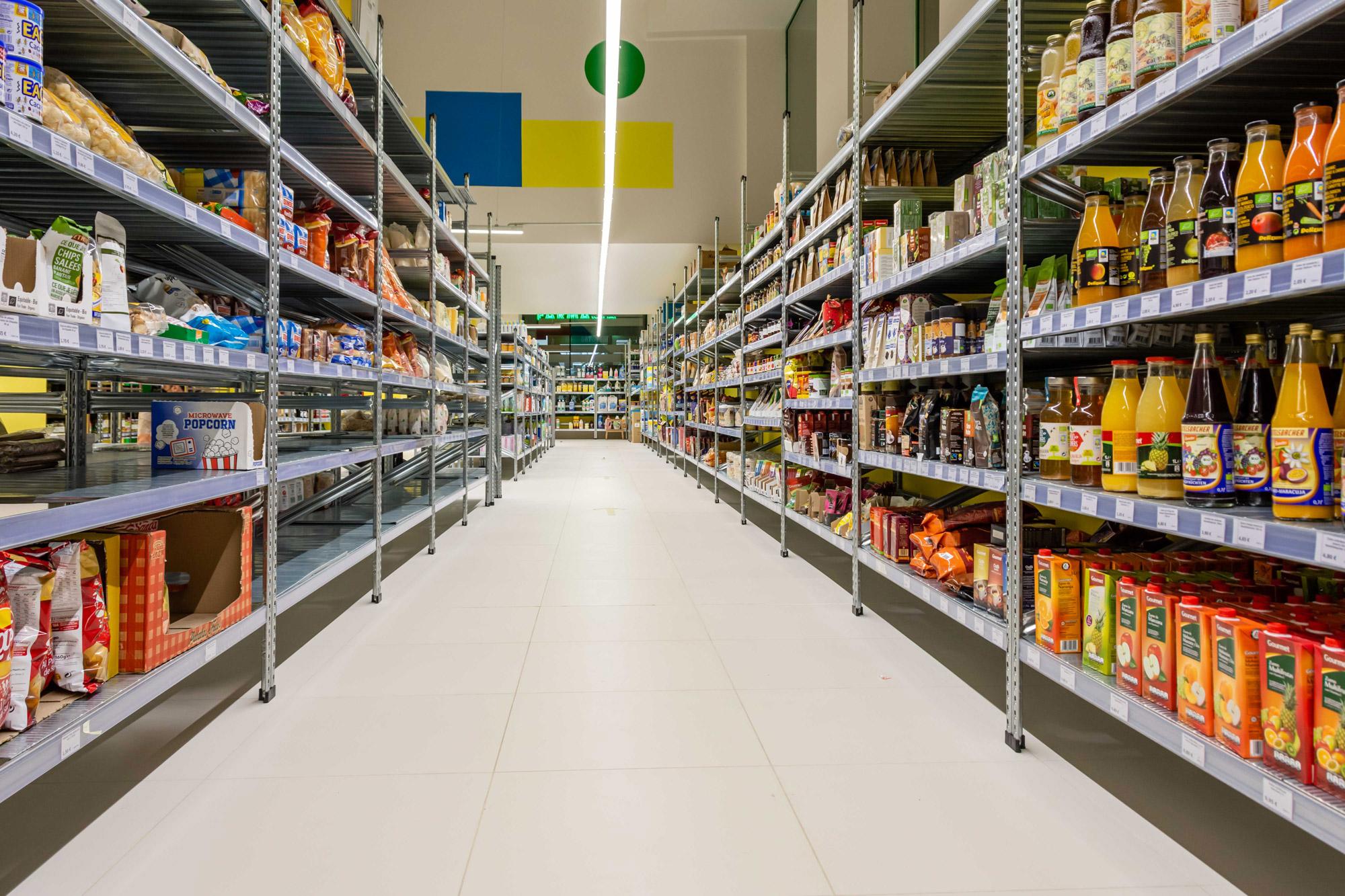 Supermercado cooperativo La Osa Madrid