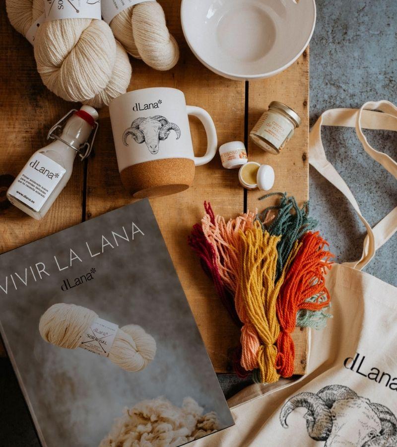 Libro vivir la lana, un proyecto de dLana