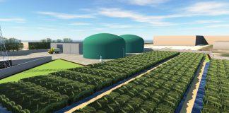 Planta biogás