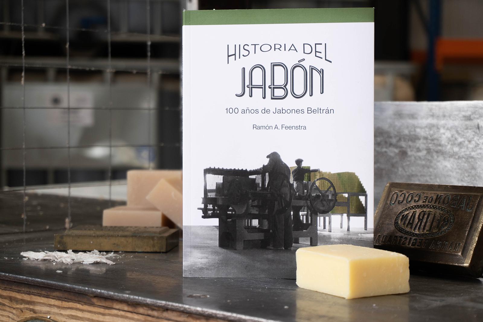 Libro Historia del jabón