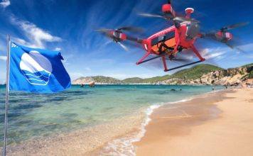 Playa con Bandera Azul en España