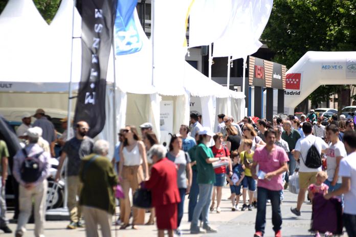 Feria coche electrico madrid VEM2021
