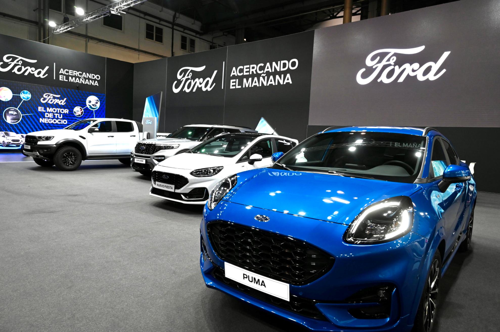 Gama electrificada de Ford